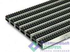 """Грязезащитные алюминиевые решетки со щеточным покрытием """"Щётка"""""""