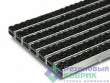 """Грязезащитные алюминиевые решетки с ворсовым покрытием """"Трафик"""""""