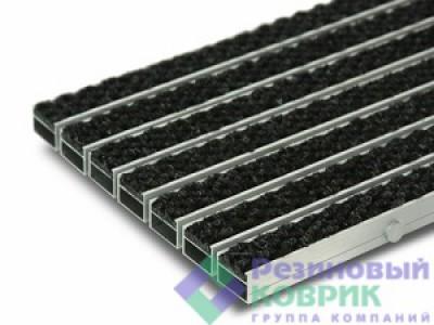 """Грязезащитные алюминиевые решетки с ворсовым покрытием """"Ворс"""""""